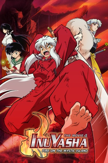 InuYasha The Movie 4: Fire on the Mystic Island main image
