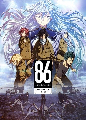 86 Anime Cover