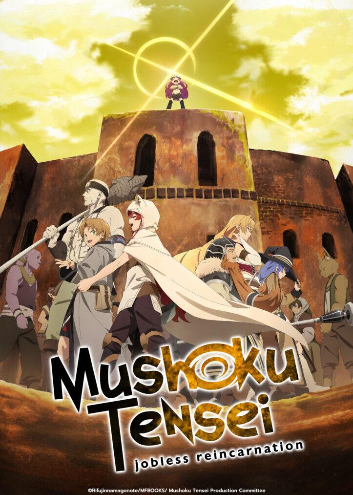 Mushoku Tensei: Isekai Ittara Honki Dasu 2nd Season Anime Cover