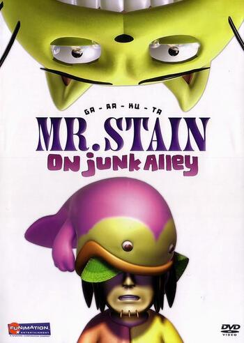 Ga-Ra-Ku-Ta: Mr. Stain on Junk Alley main image