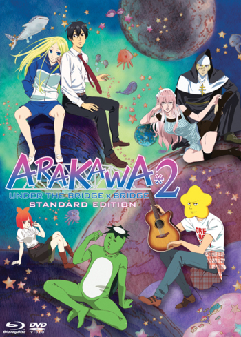 Arakawa Under the Bridge x Bridge main image