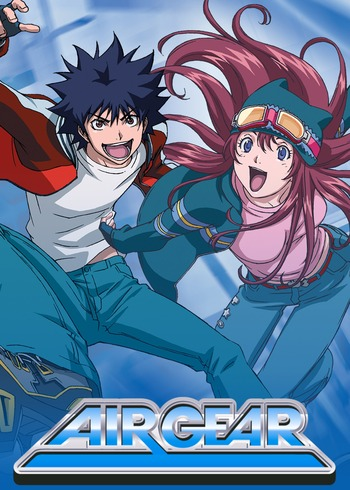 Air Gear: Kuro no Hane to Nemuri no Mori -Break on the Sky- main image