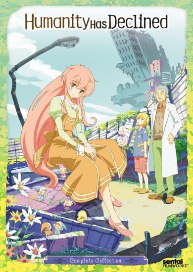 Jinrui wa Suitai Shimashita Anime Cover