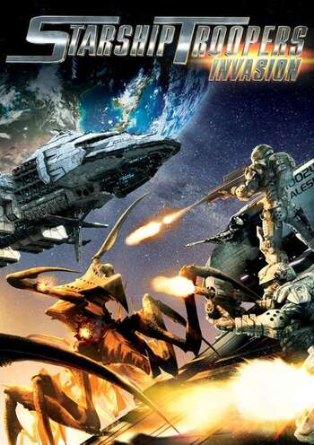 Starship Troopers: Invasion main image