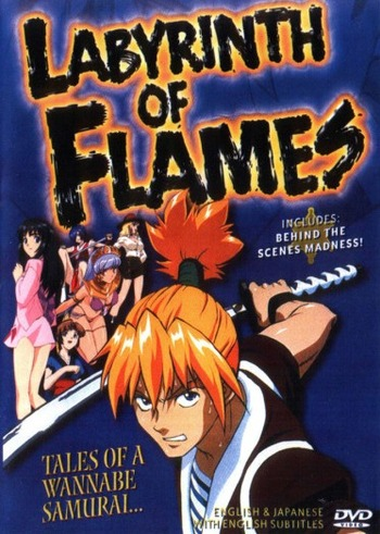 Labyrinth of Flames main image