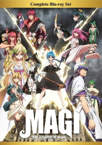 Magi: The Kingdom of Magic main image