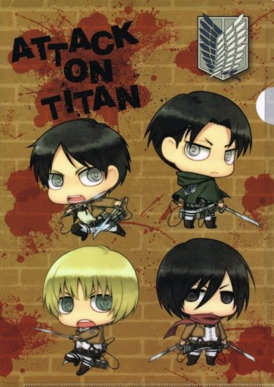 Attack on Titan Picture Drama Main Image