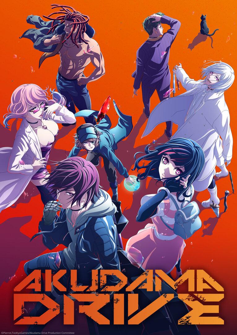 Akudama Drive Anime Cover