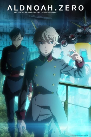 Aldnoah.Zero 2nd Season Anime Cover
