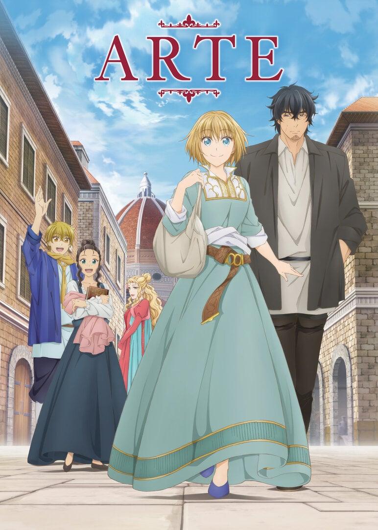 Arte Anime Cover