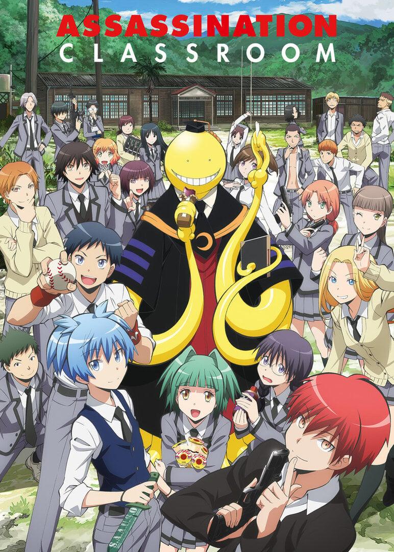 Ansatsu Kyoushitsu Anime Cover