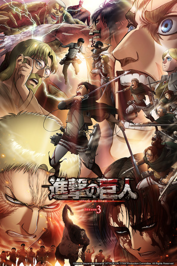 Attack on Titan 3rd Season: Part II