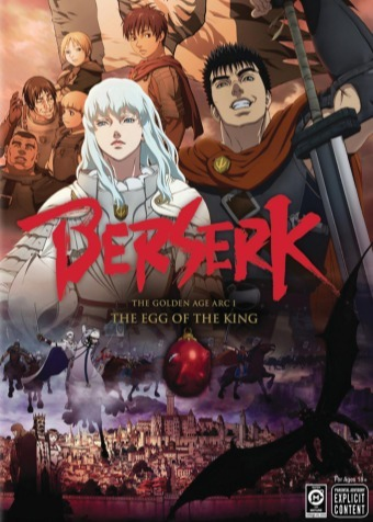 Berserk golden age arc 3 dub
