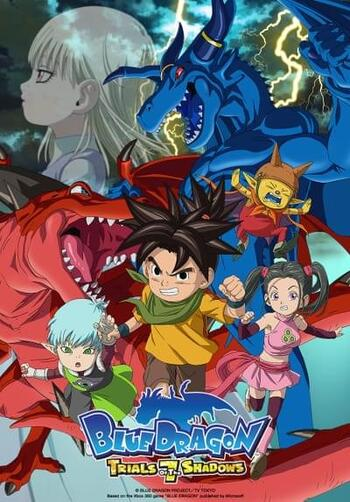 Blue Dragon Anime: Blue Dragon: Trials Of The Seven Shadows