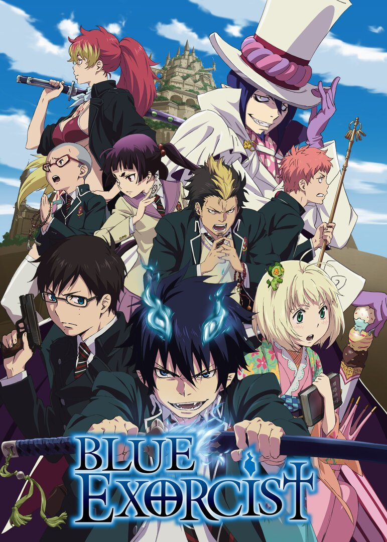 Ao no Exorcist Anime Cover