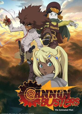 Cannon Busters Anime Planet