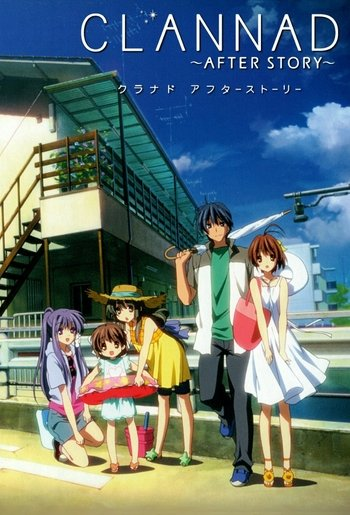 Characters Appearing In Clannad After Story Anime Anime Planet