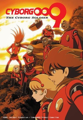 Cyborg 009 on Mysterious Challenges Nine