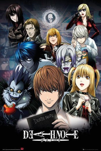 Death Note | Anime-Planet