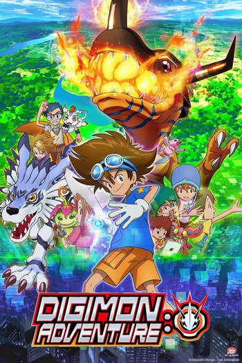 Digimon Adventure: Anime Cover