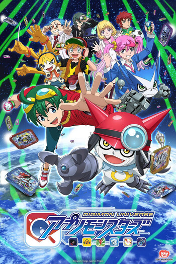 Digimon Universe: Appli Monsters | Anime-Planet