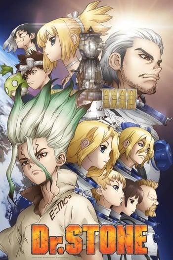 Dr. Stone: Stone Wars - Kaisen Zenya Special Eizou Anime Cover