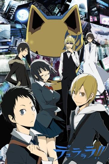 Durarara!! Anime Cover