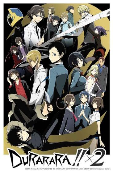 Durarara!!x2 Shou Anime Cover
