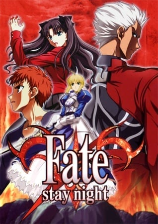 Fate/stay night Anime Cover