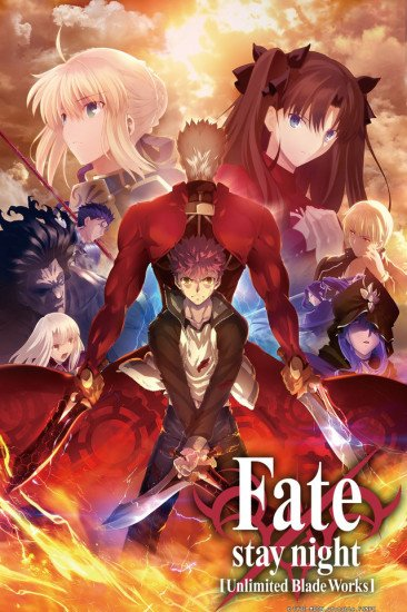 Fate Stay Night Unlimited Blade Works 2 Anime Planet