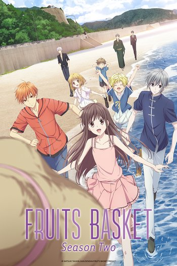 Fruits Basket 2nd Season Anime Cover