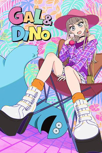 Gal to Kyouryuu Anime Cover