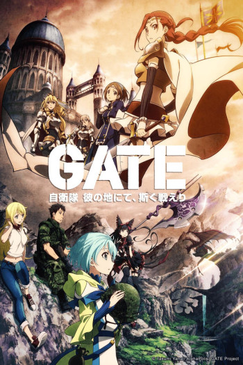 watch gate anime online anime planet