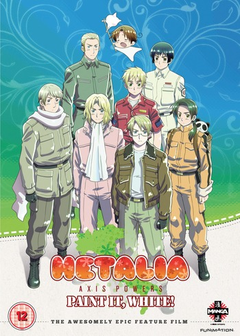 Ginmaku Hetalia: Axis Powers - Paint it, White (Shiroku Nure!)