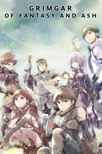 Hai to Gensou no Grimgar Anime Cover
