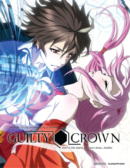 guilty crown anime reviews animeplanet