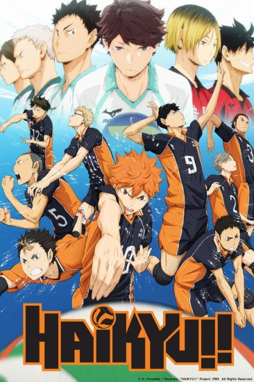 Haikyuu!! Anime Cover
