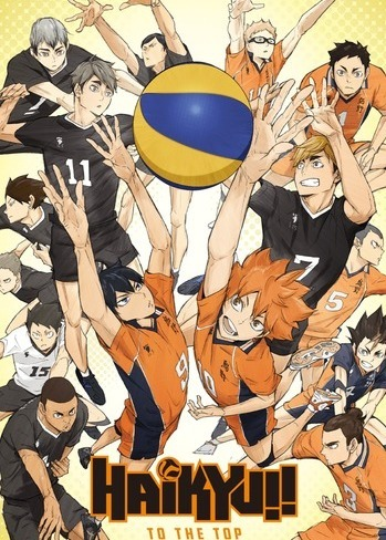 Haikyuu!!: To the Top 2nd Season Anime Cover