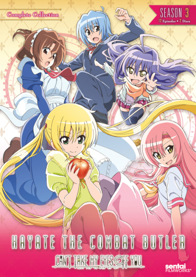 Hayate the Combat Butler: Can't Take My Eyes Off You image