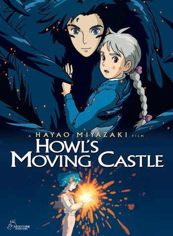 Howls Moving Castle Go To Anime