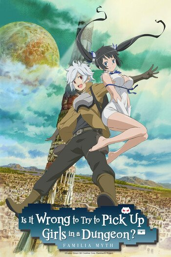 Is It Wrong to Try to Pick Up Girls in a Dungeon? Main Image