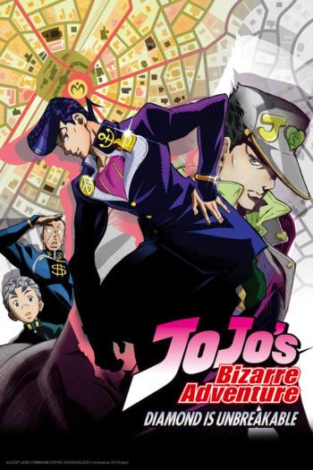 Watch JoJo's Bizarre Adventure: Diamond is Unbreakable Anime Online