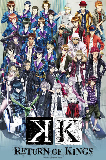 Watch K: Return of Kings Episode 1 Online - (Sub) Knave