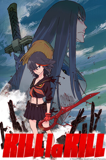 Kill la Kill Anime Cover