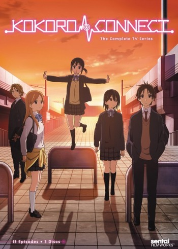 Kokoro Connect Anime Cover