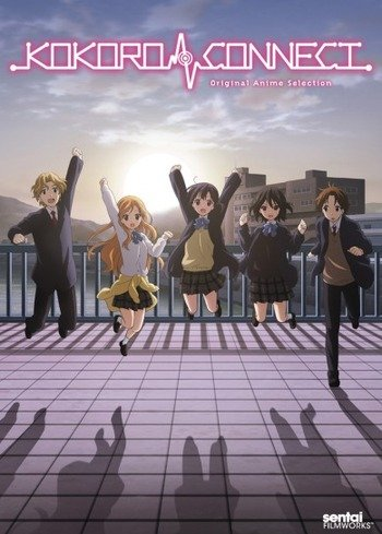 Kokoro Connect: Michi Random Anime Cover