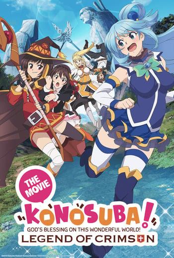 Kono Subarashii Sekai ni Shukufuku wo!: Kurenai Densetsu Anime Cover