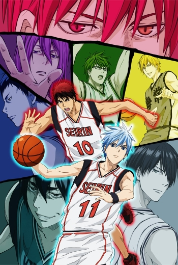 Kuroko no Basket 2nd Season Anime Cover