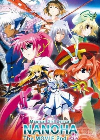 Magical Girl Lyrical Nanoha The Movie 2nd A S Anime Planet