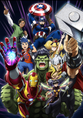Marvel Future Avengers 2nd Season